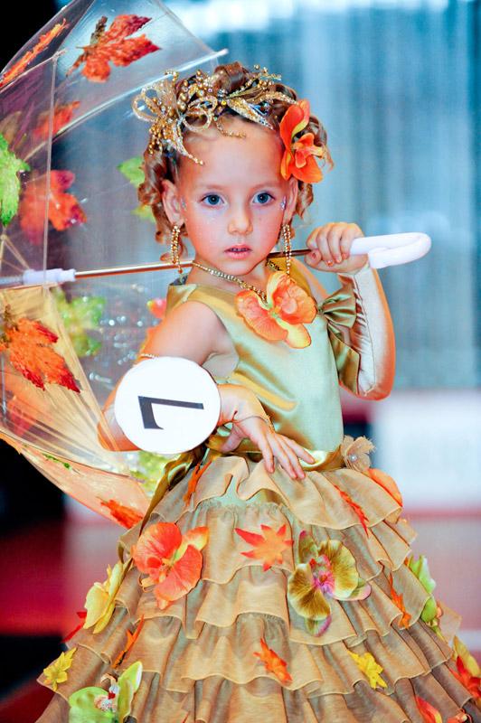 Детское платье на осенний бал своими руками 3