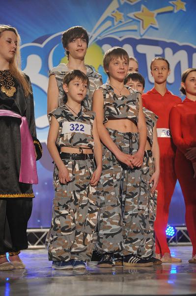 Театр экстремального танца «Легион» (Мариуполь) показал на конкурсе композицию «Девятая рота» и оказался в полуфинале.