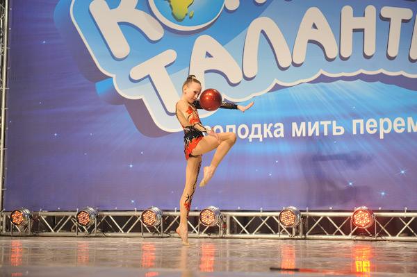 Гимнастка Наталья Ковалева из Макеевки покорила жюри не только своими спортивными способностями, но и артистизмом.