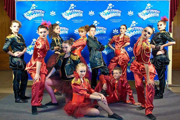 Коллектив современного и спортивного танца «Тотем» (Купянск) показал на сцене самый современный и стильный номер.