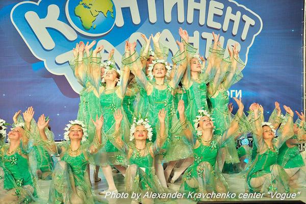 Образцовый ансамбль «Барвинок» из Лисичанска танцевал под песню «Квітка-душа».