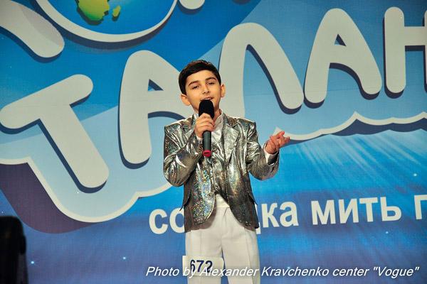 Левон Погосов из Алчевска имел большой успех в первом сезоне «КОНТИНЕНТа талантов», но победителем не стал. В этот раз он настроен решительно.
