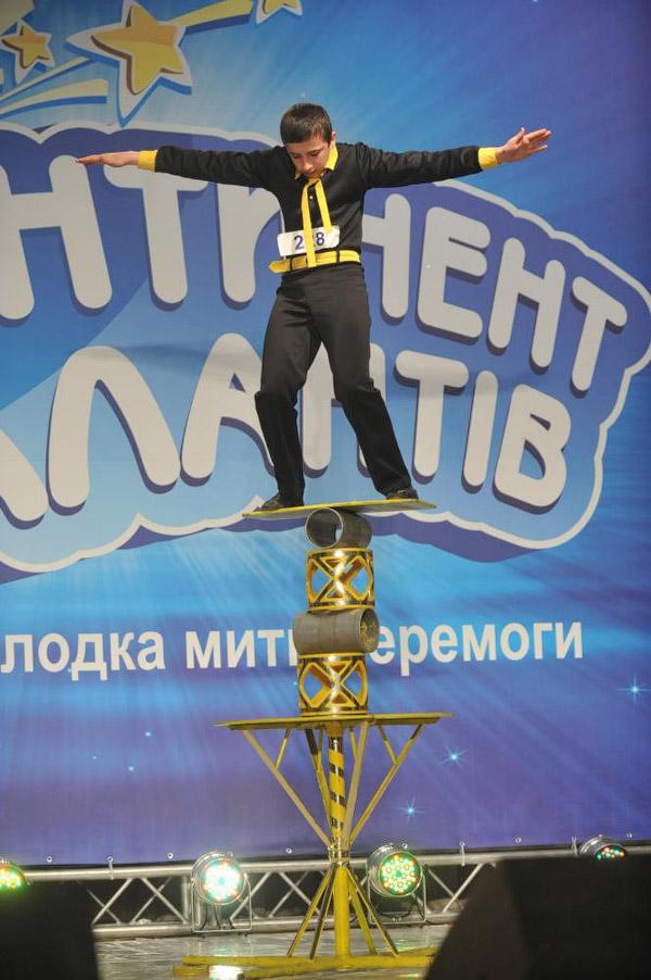 Возьмет ли Ростислав Рязанцев из пос. Старобешево Донецкой области новую высоту в полуфинале «КОНТИНЕНТа талантов»?