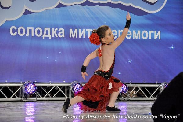Катя Бодрухина из Луганска предстала в образе Кармен и удивила жюри не только хореографическим, но и актерским талантом.