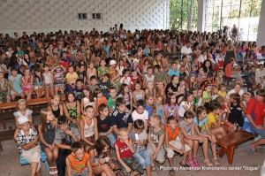 Зрители с нетерпением ожидают начала концерта финалистов «КОНТИНЕНТа талантов».