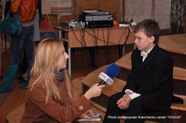 Максим Левченко, участник первого и второго сезонов «КОНТИНЕНТа талантов», воспитанник мариупольской школы-интерната.