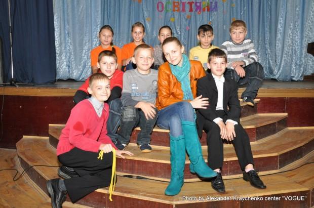 Участники концерта для гостей с «КОНТИНЕНТа талантов».