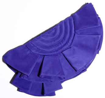 Синий веер