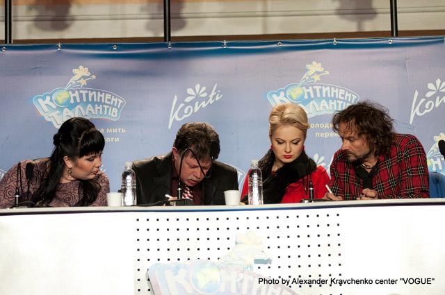 Члены жюри проекта: Маргарита Колганова, Юрий Кукузенко, Светлана Захарова, Андрей Еремин (слева направо)
