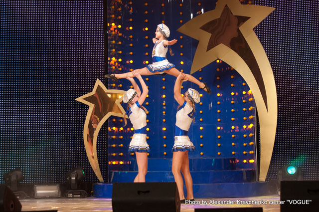 Акробатическое трио цирка «Надежда»