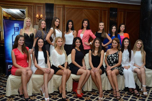участницы конкурса «Мисс Донбасс Open 2012»